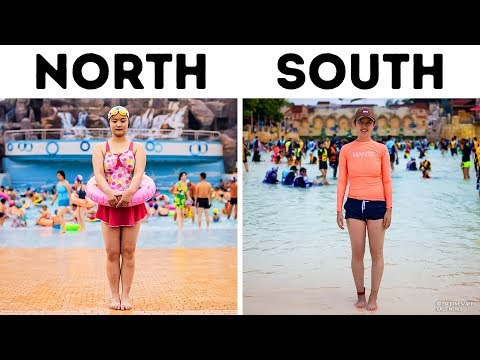 North Korea VS. South Korea (They're Totally Different!)
