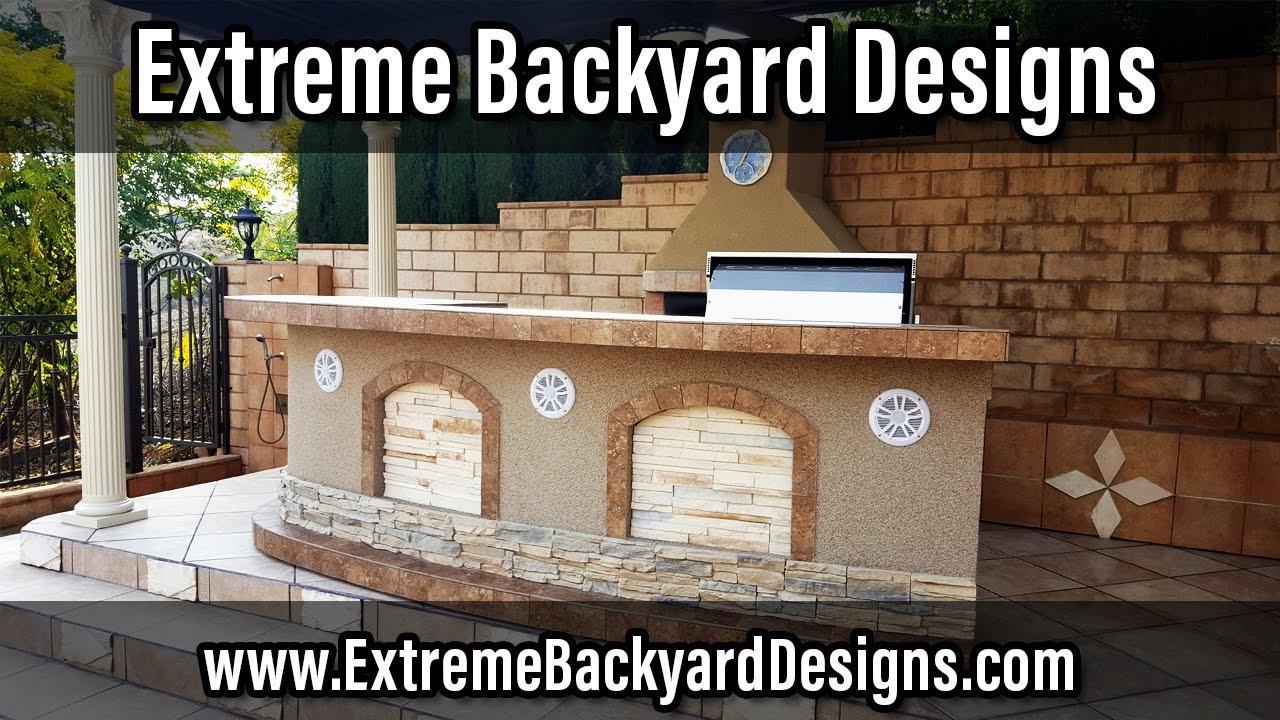 Orange County BBQ Islands   Traeger Grills   Extreme Backyard Designs