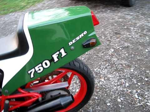 86 Ducati 750 F1 050 Avi Youtube