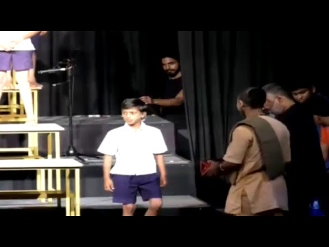 A Group of Talented Children perform The Manganiyar Classroom: Chords of Giving 2.0