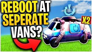 What Happens When You REBOOT YOUR TEAMATE At TWO SEPERATE REBOOT VANS? | Fortnite Mythbusters