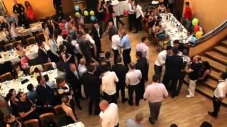 Драка на болгарской свадьбе