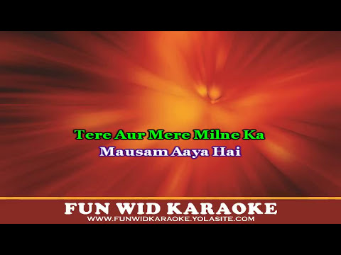 Saawan Aaya Hai Karaoke   Creature 3D   Arijit Singh
