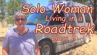 Living in a Roadtrek Class B