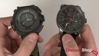 Diesel Limited Edition Mister Cartoon DZMC0002 et DZMC0001 - examen par DiscountShop.com