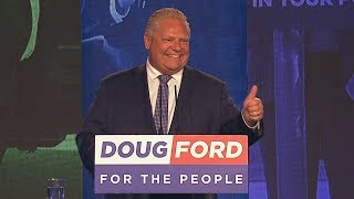 Doug Ford calls Progressive Conservative majority