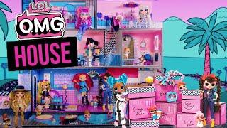 LOL Surprise OMG HOUSE Unboxing! Honest Review LOL OMG House VS LOL House