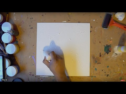 Abstract Painting Technique | Fine Art | Demo | Acrylic Art Series  Video 8