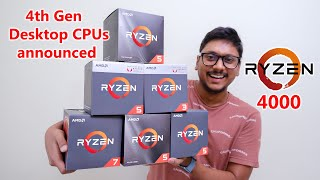 AMD Ryzen 4th Gen CPUs announced! but the BAD news is... 😐
