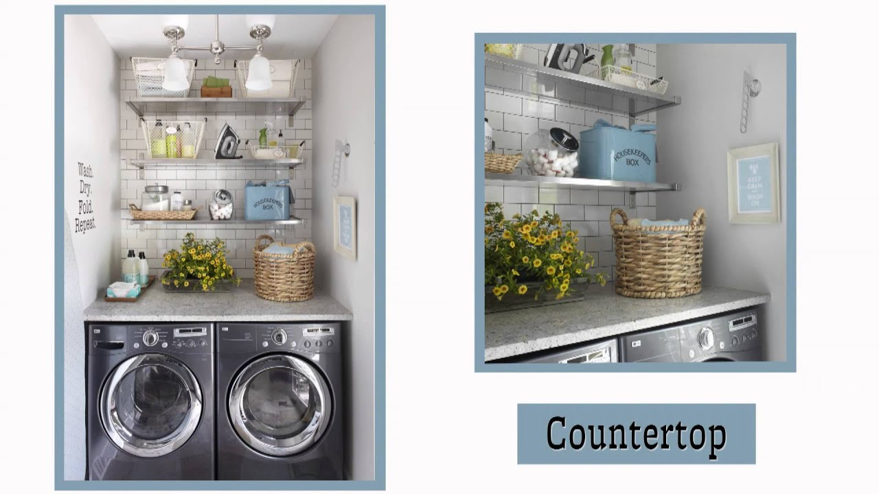 laundry room storage ideas - youtube