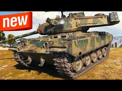 M41D - NEW Chinese Light - World of Tanks Gameplay thumbnail