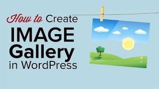 Wie erstellt man eine Image-Gallery in WordPress