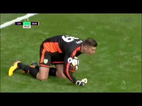 170915 Nick Pope VS Liverpool