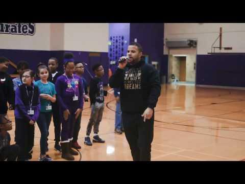 RJ Griffith - Good Day Live Performance Merrillville Intermediate School