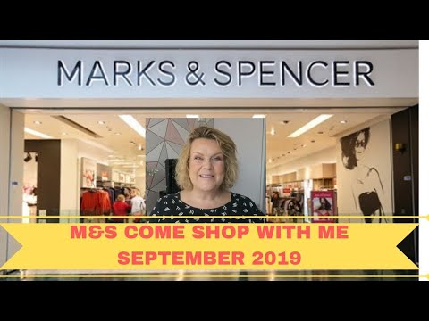 Marks & Spencer Come Shop With Me & Haul - September 2019 - M&S - Over 50 Lifestyle