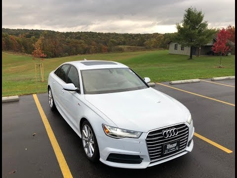 2018 Audi A6 Review! 3.0T SUPERCHARGED!!