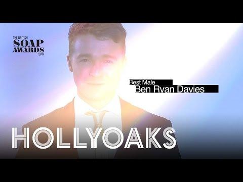 British Soap Awards 2017: Vote for Ben Ryan Davies