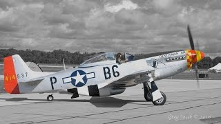 P-51 Mustang Start Up and Taxi 5.1 Surround Sound (4K)
