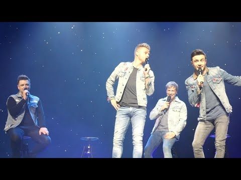 Westlife - Stools Medley and Shane's Two Mistakes - SSE Hydro Glasgow - 28th May 2019