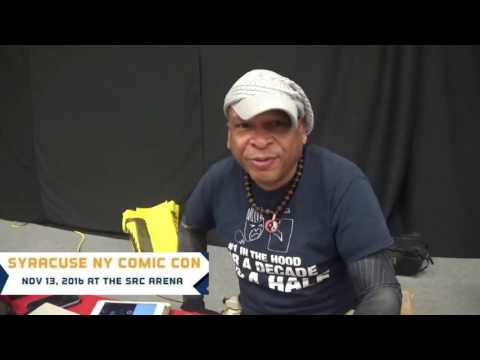 Syracuse Ny Comic Con Carey Means Frylock interview