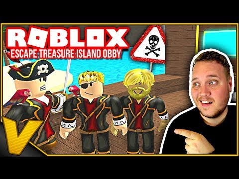 VI SKAL FINDE SKATTEN! 🤑 :: Escape Treasure Island Obby - Roblox Dansk