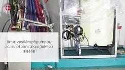 Ilmavesilämpöpumppu kuuden asunnon rivitalokohteessa - Nilan Compact PC AIR 9
