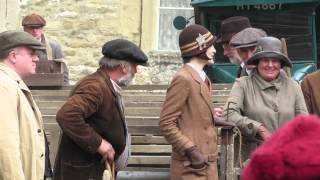 Exclusive: Downton Abbey Are Seen Filming On Location In Wiltshire