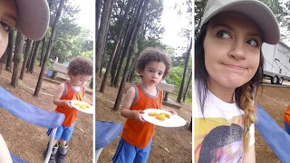 Kid Tells Mum He Needs A Break