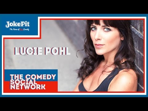 Lucie Pohl - Edinburgh Fringe Interview with Jamiesface - JokePit The Comedy Social Network