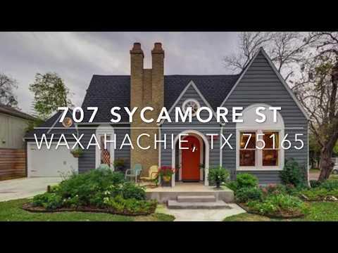 707 Sycamore St Waxahachie, TX 75165   SQ FT Micro Blog