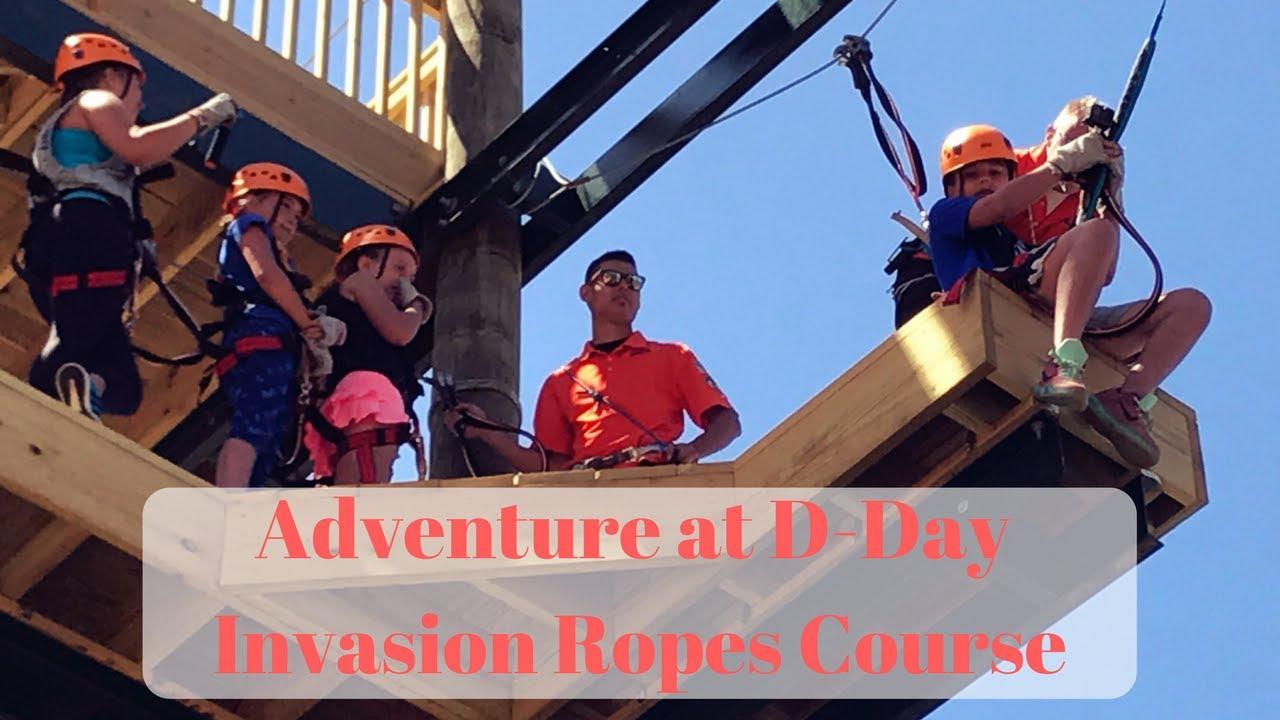 Bigfoot Ropes Course - Dells Adventure Park