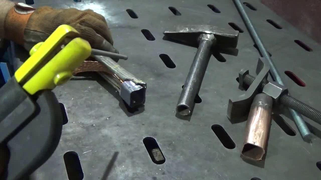 Сварка меди со сталью покрытыми электродами.