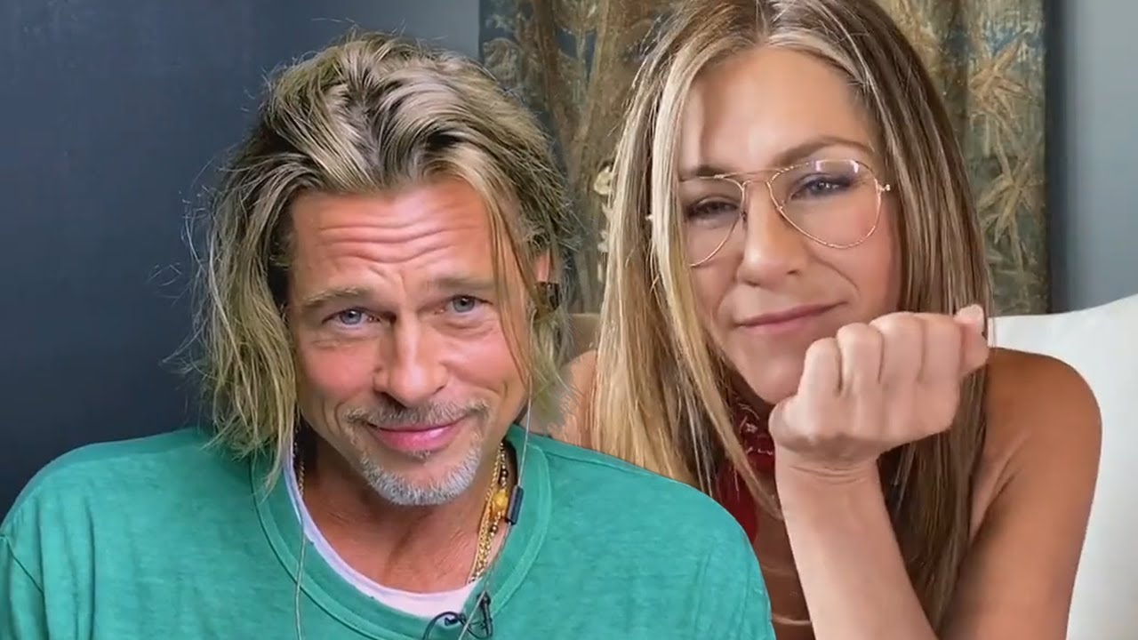 Jennifer Aniston, Brad Pitt flirt while in character for 'Fast Times at ...