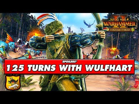 125 TURNS WITH WULFHART! SPOILERS* Total War Warhammer 2: Empire Campaign:  Wulfhart Gameplay