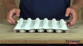 Paper Chicken Egg Tray