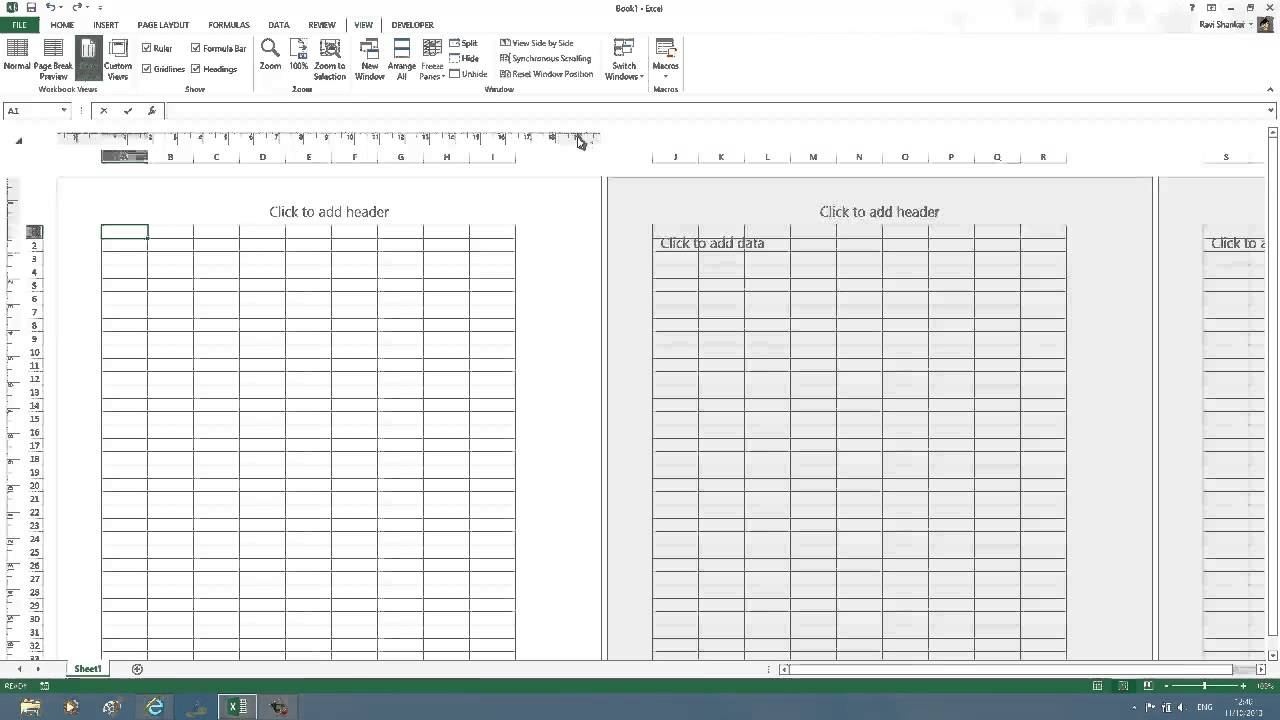 convert pixels to inches in excel