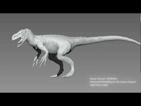 zBrush Turntable - Stokesosaurus