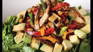 Roasted Veggie Salad With Balsamic Vinaigrette