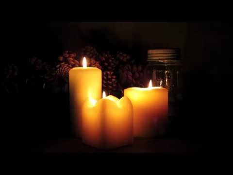 Beautiful Soft Burning Candles ● 3 hours ● in HD