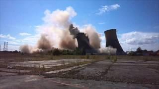 Robinson & Birdsell - Explosive demolition of High Marnham Cooling Towers