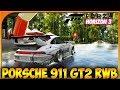 PORSCHE 911 GT2 RWB +TOP 20 GT350 | FORZA HORIZON 3 #145 | DEWRON