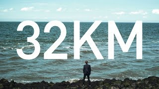 32 KM film follows Daan Roosegaarde in the making of his largest work to date