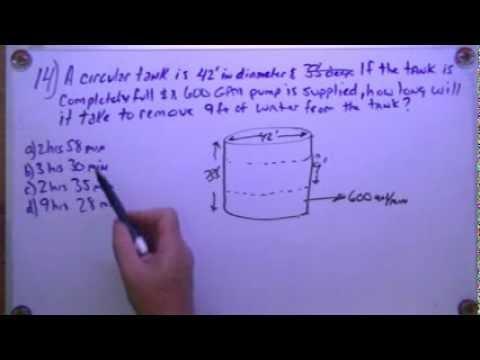 Wastewater Collection Math Problem #14   SewerGeek