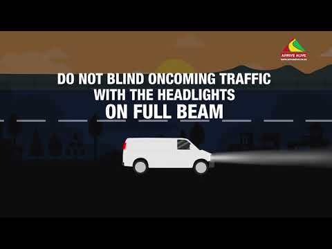 Visibility, Lights and Safe Driving