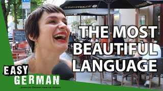 Whats the most beautiful language in the world?   Easy German 303