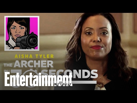 Archer: Aisha Tyler Recaps The Series In 30 Seconds | Entertainment Weekly