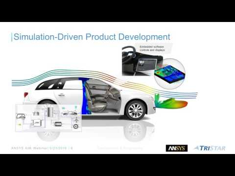 Webinar Replay: Simulation For Product Design Engineers + Using Templates in ANSYS AIM