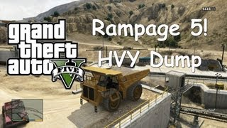 Grand Theft Auto 5 - Rampage 5 - HVY Dump