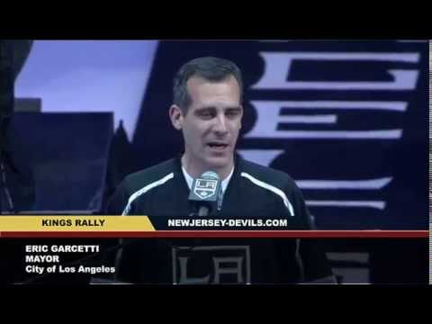 Los Angeles Mayor Eric Garcetti Swears | Curses at Kings Rally, Fox Sports West Apologizes