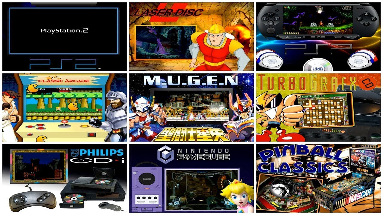HyperSpin Box - 132 CONSOLES      - Youtube Video Download